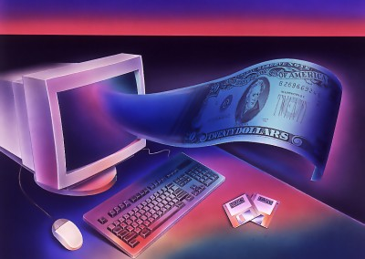 Computer with Dollar
